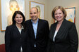 Wendy Gottfried, Saks Fifth Avenue, Francois Duquesne, L'Artisan Parfumeur and Karen Newman, GCI magazine