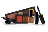Collection of color cosmetic products from Inglot Cosmetics