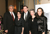 From left, Cosimo Policastro, executive vice president, Givaudan; Carlotta Jacobson, president, CEW; Bernd Beetz, CEO, Coty, Inc.; Catherine Walsh, senior vice president, American fragrances, Coty Prestige, CEW board member; and Jill Scalamandre, group vi