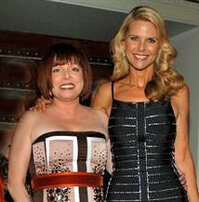 Patricia Wexler and Christie Brinkley