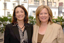 Jill Belasco, Latitudes International; Karen Newman, GCI