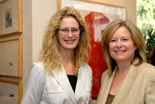 Marcy Fisher, vice president of marketing, Liz Claiborne/Juicy Coiture; Karen Newman, GCI