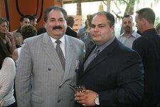 Event sponsor Cameo Metal Products' Vito and Anthony DiMaio