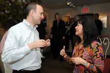 Chandler Burr, The New York Times (fragrance critic); Ruth Sutcliffe, Coty
