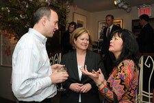 Chandler Burr, The New York Times (fragrance critic), Karen Newman, GCI magazine and Ruth Sutcliffe, Coty