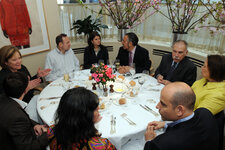 The May 2008 Power Lunch group at Michael's restaurant in New York