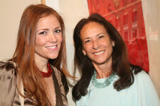 Maureen Kelly, president, Tarte Cosmetics; Sioux Saunders, vice president of marketing and product development, Interparfums