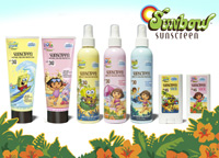 Sunbow Sunscreens product line