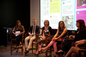 Social beauty award panelists discuss social media strategy
