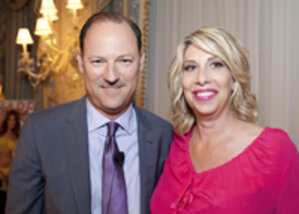 Maybelline New York executives speaking at CEW event