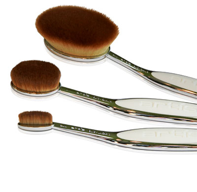 Artis makeup brushes, available from Taiki
