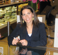 Bobbi Brown autographed copies of her new book, Bobbi Brown Living Beauty, at a reception at Saks Fifth Avenue.