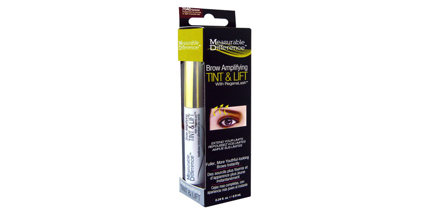 Measurable Difference's Brow Amplifying Tint & Lift with RegenaLash