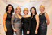 From left to right: Ouidad, Leslie Marino, Barbara Zinn-Moore, Gina Boswell and Lisa Hawkins