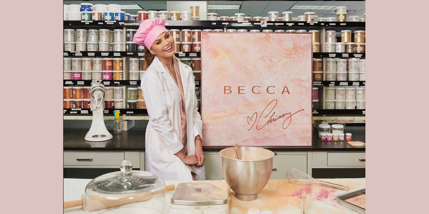 Becca Cosmetics and Chrissy Teigen to Release New Palette