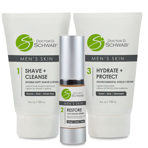 Doctor D. Schwab Men's Skin Care Set