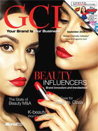 Global Cosmetic Industry September 2016 cover