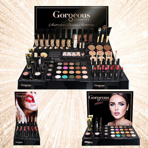 Gorgeous Cosmetics Launches New Engaging Display