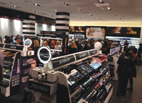 New Sephora store at Sao Paulo's JK Iguatemi Mall