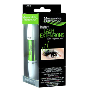 Measurable Difference's Instant Lash Extensions with RegenaLash