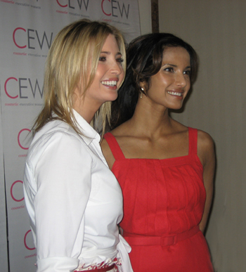 Ivanka Trump and Padma Lakshmi