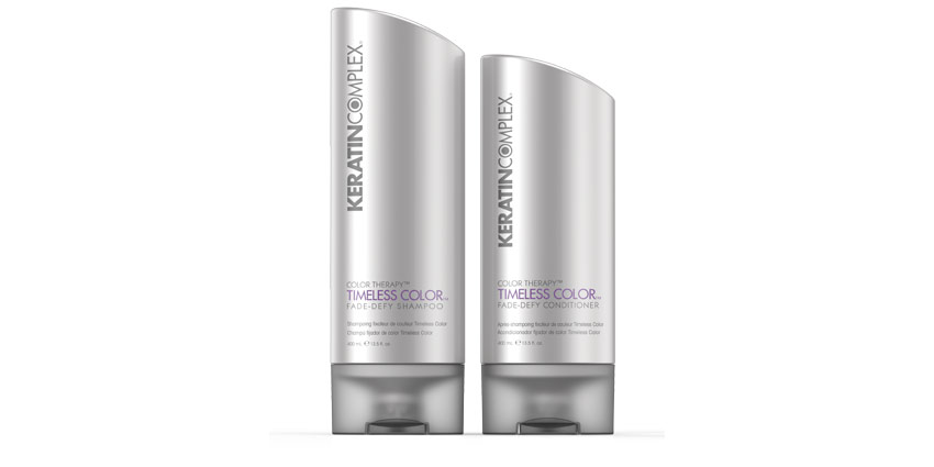 Don't Fade On Me: Keratin Complex's Timeless Color Fade-Defy