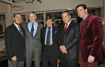 Marc Rosen, Jerry Vittoria, Philip Shearer, Roger Caracappa, and Theo Spilka