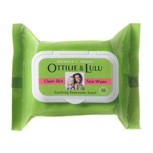 Ottilie & Lulu Clean Skin Face Wipes