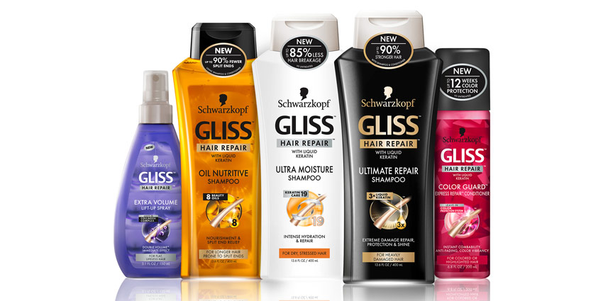 GLISS Hair Repair Line by Schwarzkopf