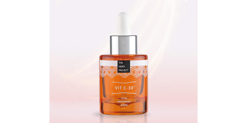 The Hero Project's Vit C-30 Serum and Smart Packaging
