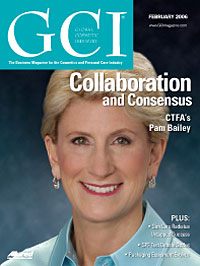 Global Cosmetic Industry February 2006 cover