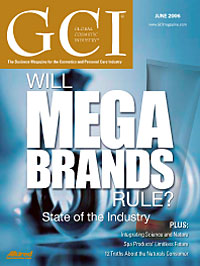 Global Cosmetic Industry June 2006 cover
