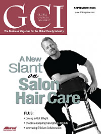 Global Cosmetic Industry September 2006 cover