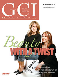 Global Cosmetic Industry November 2006 cover