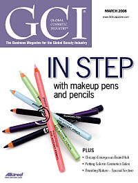 Global Cosmetic Industry March 2008 cover