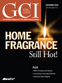 Global Cosmetic Industry November 2008 cover