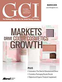 Global Cosmetic Industry March 2009 cover