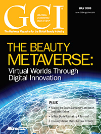 Global Cosmetic Industry July 2009 cover