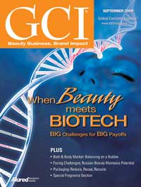 Global Cosmetic Industry September 2009 cover