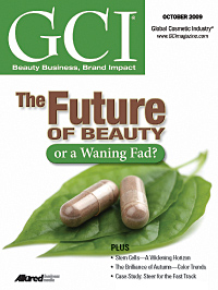 Global Cosmetic Industry October 2009 cover