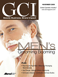 Global Cosmetic Industry November 2009 cover