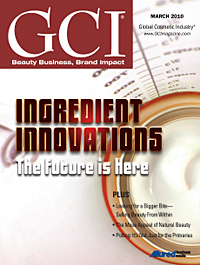 Global Cosmetic Industry March 2010 cover
