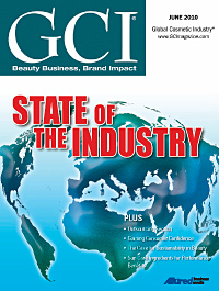 Global Cosmetic Industry June 2010 cover