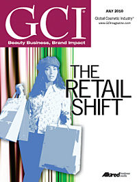 Global Cosmetic Industry July 2010 cover