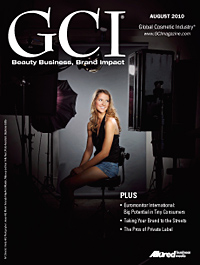Global Cosmetic Industry August 2010 cover
