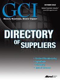 Global Cosmetic Industry October 2010