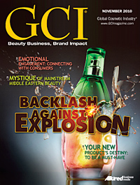 Global Cosmetic Industry November 2010 cover