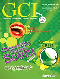 Global Cosmetic Industry January 2011 cover
