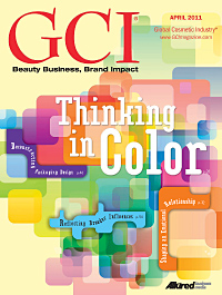 Global Cosmetic Industry April 2011 cover