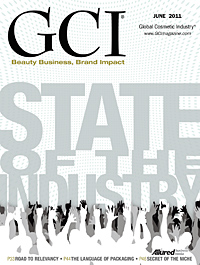 Global Cosmetic Industry June 2011 cover
